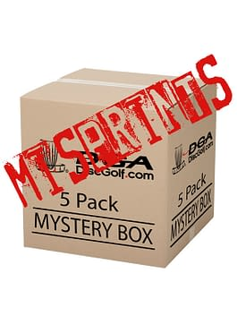 DGA Mis-print Mystery Disc Box 5 Pack