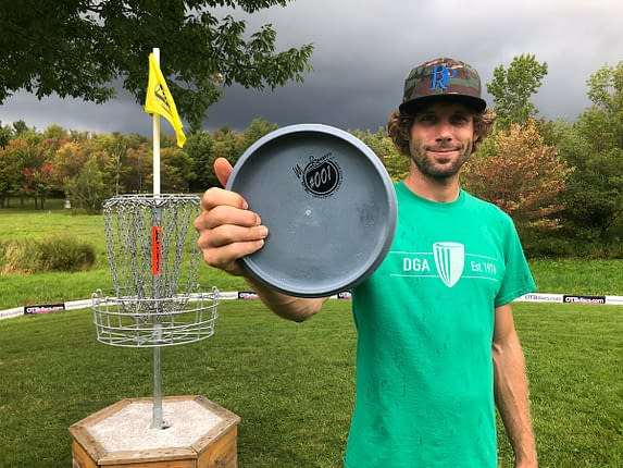 Mat Bell with his limited edition DGA pro Series Steady