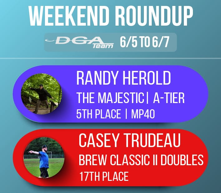 Team DGA Weekend Round up 6/5 - 6/7