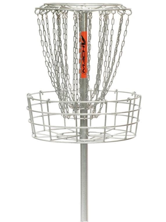 Mach 5 Permanent Basket Disc Golf Target