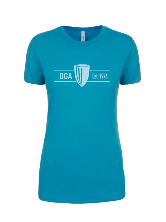 dga-ladies-established-tee-turquoise
