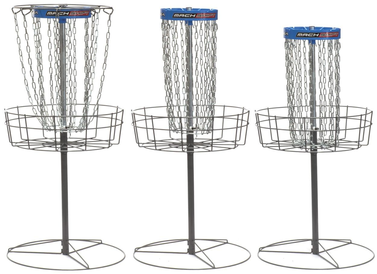 DGA Mach Shift disc golf basket is the the most versatile practice target on the market.
