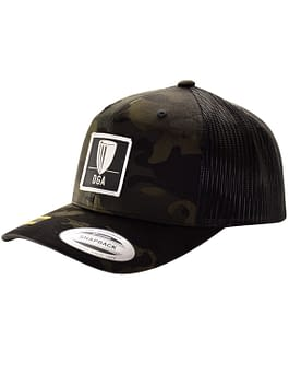 Patch Dark MultiCam Mesh Snapback Curved Bill Cap