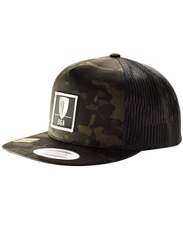 Patch Dark MultiCam Mesh Snapback Flat Bill Cap
