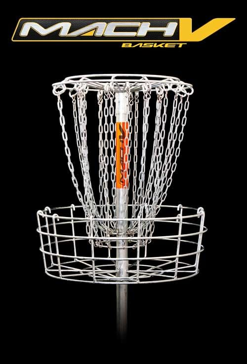Mach 5 Permanent Disc Golf Basket