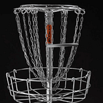 Mach 2 Portable Disc Golf Basket