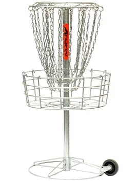 Mach 5 Disc Golf Basket – Portable