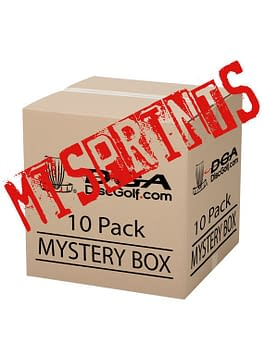 DGA Mis-print Mystery Box Disc 10 Pack