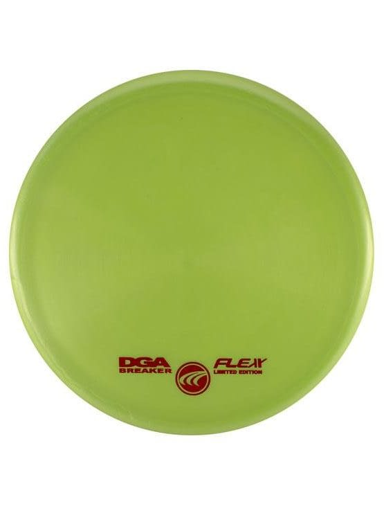 DGA Breaker Putt and Approach Flex Light Green Disc