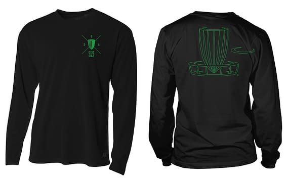 Black Chopstix Dri Fit LS