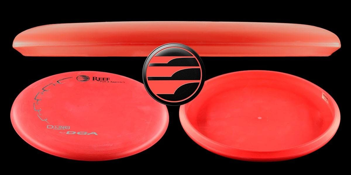 DGA Reef Putt and Approach D-Line Disc Hero.Image
