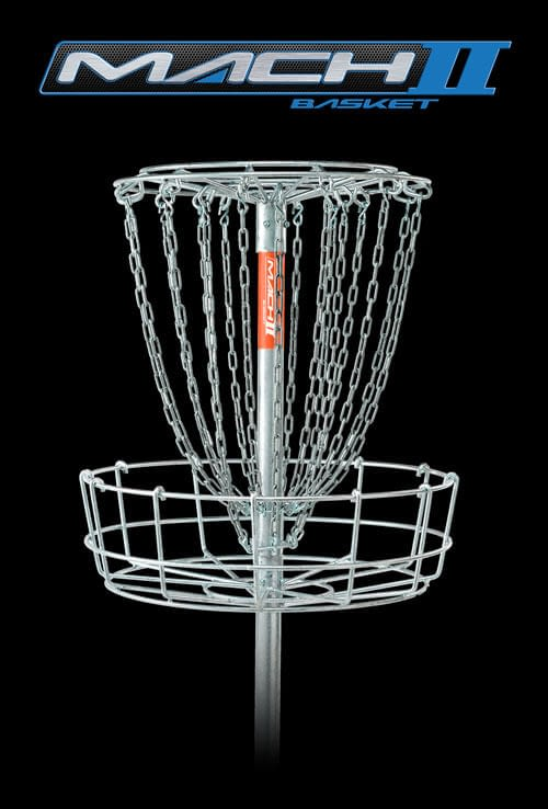 DGA Mach 2 Disc Golf Basket is the most affordable durable all hot-dipped galvanized practice target available.