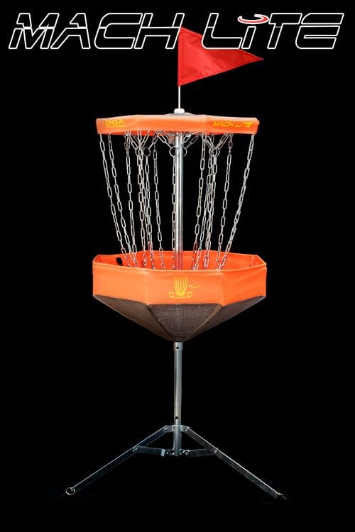 Mach Lite Portable Disc Golf Basket