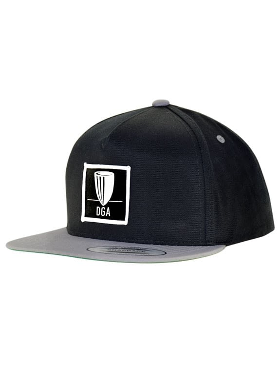 Patch Cotton Snapback Flat Bill Cap
