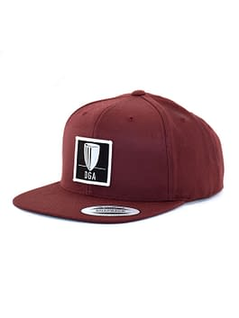Patch Snapback Flat Bill Cap