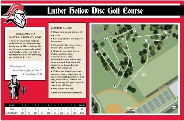 Luther Hollow DGC - Tonn's Travels